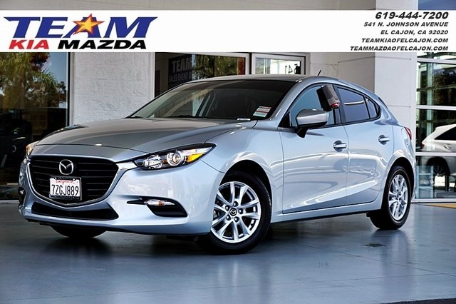 Certified Pre Owned 2017 Mazda3 Sport Base