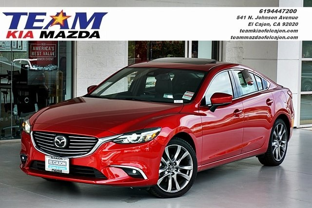 new 2017 mazda mazda6 grand touring grand touring 4d sedan in el cajon m1000 team mazda of el. Black Bedroom Furniture Sets. Home Design Ideas