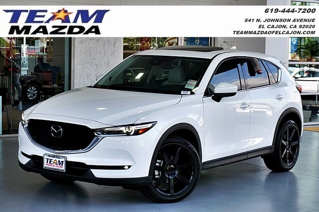 New 2018 Mazda Cx 5 Grand Touring Aftermarket 20 Wheels 4d